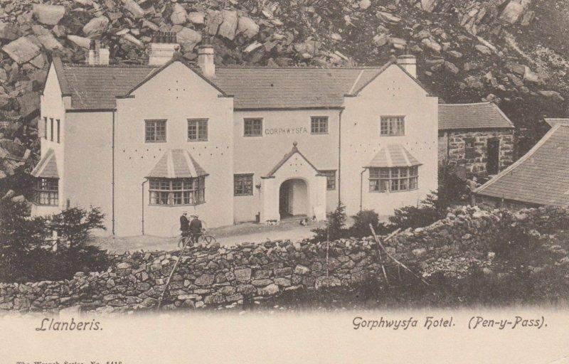 Llanberis, North Wales, 00-10s ; Gorphwysfa hotel (Pen-y-Pass)