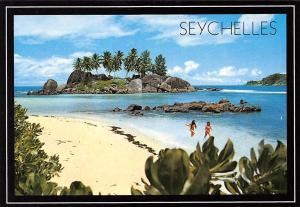 Seychelles Port Glaud Beach Spiaggia Porto Glaud