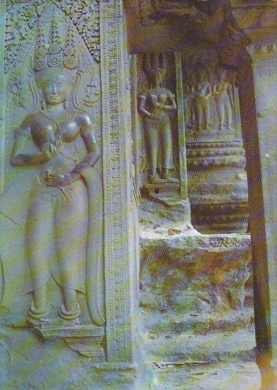 Cambodia Siam Reap Angkor Wat Vue generale du temple