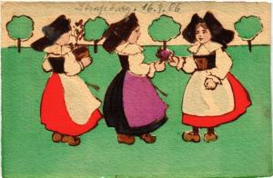 CPA  Alsace - Elsass - Types - Folklore  (481477)
