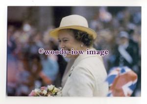pq0095 - Queen Elizabeth at Nottingham 1984 - postcard