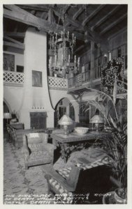 RP: DEATH VALLEY, CA, 20-40s; The Living Room & Fireplace, Scotty´s Castle