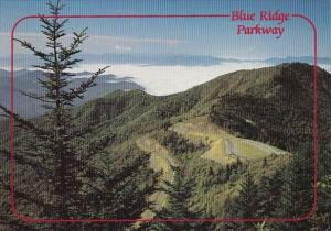 North Carolina Blue Ridge Parkway Waterrock Knob Overlook