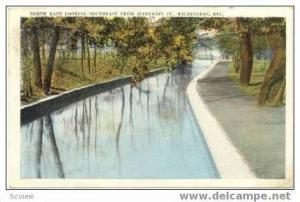 Scenic View of North Race from Jefferson St, Wilmington, Delaware, 1923