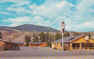 Wyoming Dubois Trails End Motel 1972