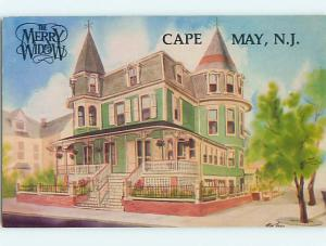 1986 Merry Widow - Victorian House Cape May New Jersey NJ Q7600