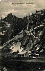 CPA NORWAY-Romsdalen-Fiva og Troldtinderne (332015)