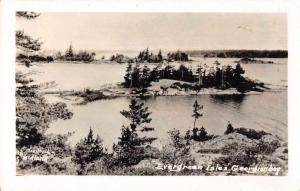 Midland Canada Georgian Bay Evergreen Isles Real Photo Postcard JE229416