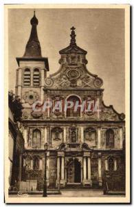 Old Postcard Le Cateau St. Martin's Church