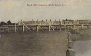 Nebraska Cozad Head Gate Irrigation Ditch