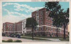 Michigan Ann Arbor Couzens Hall Nurses Home University Of Michigan 1934