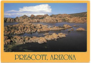 US  Unused. Prescott,  Arizona. Granite Dells-Watson Lake.  Beautiful.