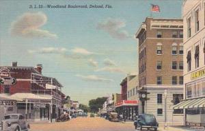 Florida Deland Woodland Boulevard Rexall Drug Store Coca Cola