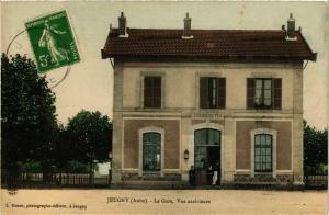 CPA JEUGNY La Gare vue extérieure (860501)