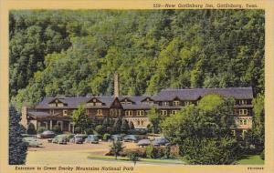 New Gatlinburg Inn Entrance To Great Smoky Mountains National Park Gatlinburg...
