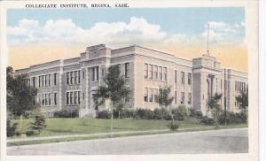 REGINA, Saskatchewan, Canada, 1900-1910´s; Collegiate Institute