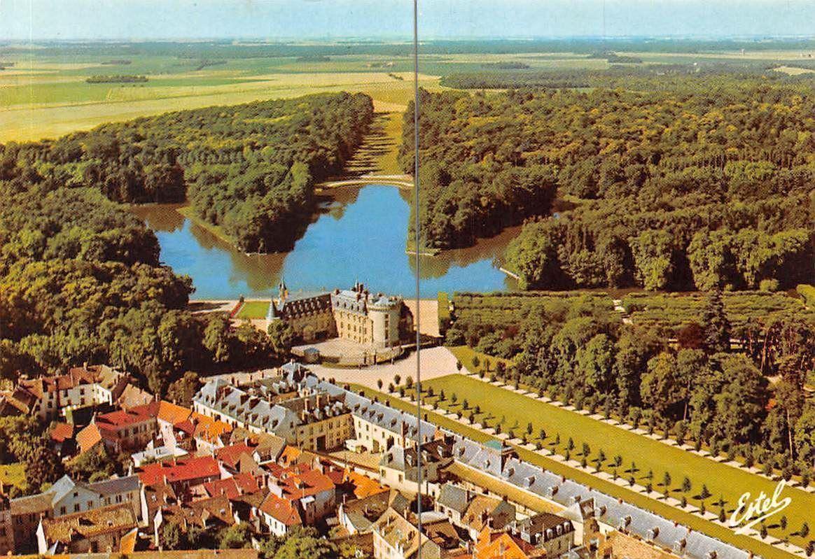 France Rambouillet Yvelines Vue Aerienne Chateau Jardin D Eau