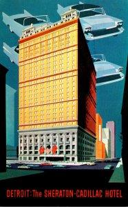 Michigan Detroit The Sheraton-Cadillac Hotel 1962
