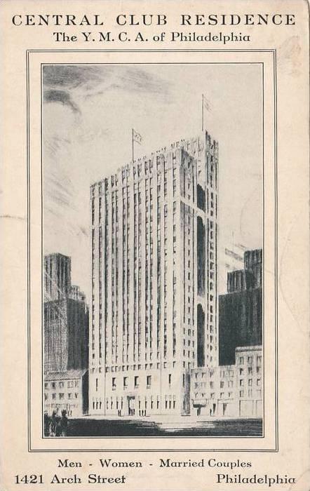 Central Club Residence, The Y.M.C.A. of Philadelphia,  Pennsylvania,  00-10s