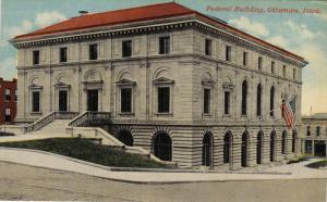 Federal Building, OTTUMWA, Iowa, 00-10s