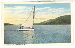 Sailing , Otsego Lake , Cooperstown , New York , 1910s