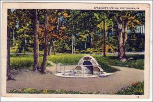 Spangler's Spring, Gettysburg PA
