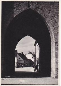 RP, Arch, Partial Street View, VISBY, Gotland County, Sweden, 1930-1950s