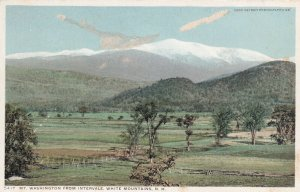 WHITE MOUNTAINS, New Hamshire, 1900-1910's; Mt. Washington From Intervale