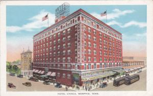 MEMPHIS, Tennessee, 00-10s; Exterior, Hotel Chisca