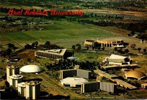 Oklahoma Tulsa Aerial View Oral Roberts University