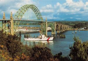 USA, United States, Newport, Oregon Postcard, Yaquina Bay Bridge U78