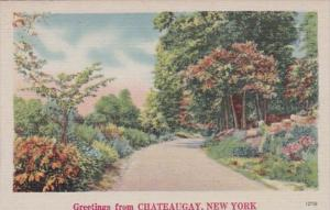 New York Greetings From Chateaugay