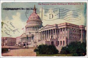 National Capitol, Washington DC   (damaged)