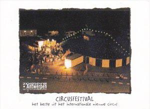 Belgium Zomer Van Antwerpen Circusfestival