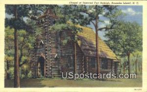 Chapel, Fort Raleigh Roanoke Island NC Unused