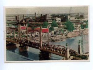 196685 Vietnam Hai Phong bridge old postcard