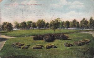 Entrance Miller Park Bloomington Illinois 1908