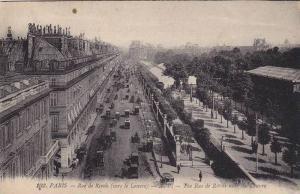 Paris,The Rue de Rivoli near the Louvre, France,00-10s