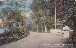 Massachusetts Haverhill Dudley Porter Memorial Fountain Road
