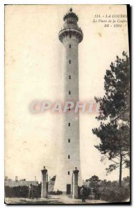 Postcard Old Coubre Lighthouse Coubre