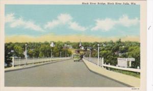 Wisconsin Black River Falls The Black River Bridge Curteich