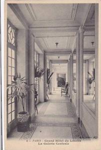 PARIS , France ,00-10s ; Grand Hotel du Louvre, La Galerie Centrale