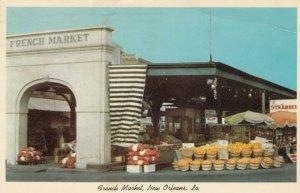 NEW ORLEANS, Louisiana, 1972; French Market