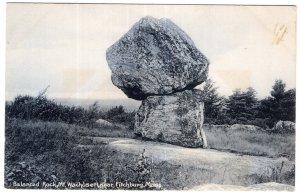 Fitchburg, Mass, Balance Rock, Mt. Wachusett
