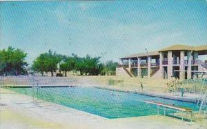 Texas Fort Stockton Comanche Springs &  Swimming Pool 1956
