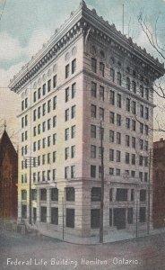 HAMILTON, Ontario, Canada, PU-1907; Federal Life Building