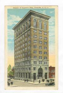 Chamber of Commerce Bldg, Greenville,South Carolina, 00-10s
