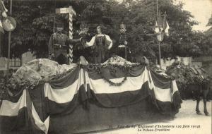 CPA Militaire - Fete du 65e Regiment d'Infanterie (20 Juin 1914) (90120)