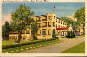 Maine Harrison Hotel Harrison On Long Lake