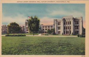 Indiana Indianapolis Arthur Jorden Memorial Hall Butler University